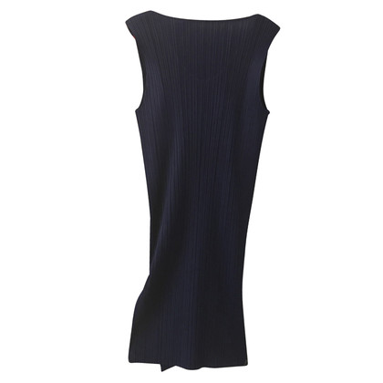 Issey Miyake vestito blu