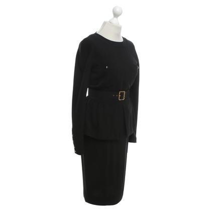 Chanel Uniform Costume avec ceinture