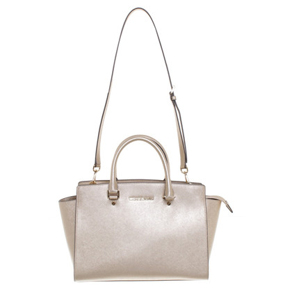 "Michael Kors ""Selma Medium"" in metallic"