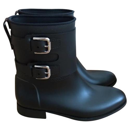 cheap for discount 1175a 075d9 Polo Ralph Lauren Stivali di gomma in nero - Second hand ...