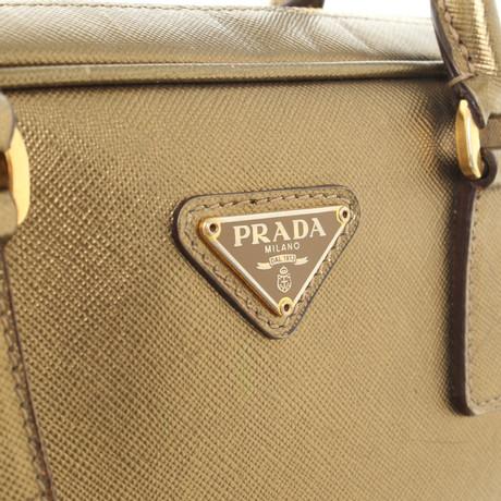 Prada Handtasche in Goldfarben Gold Besuchen Neue Freiraum Für Verkauf Billig Erschwinglich Günstig Kaufen Exklusiv 2018 Unisex Verkauf Online 2NdWLdRm