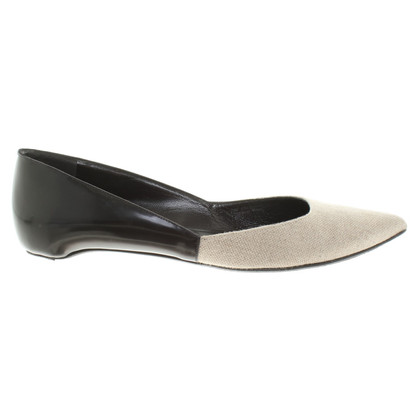 Pierre Hardy Ballerinas in black / beige