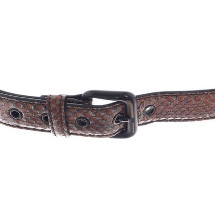Bottega Veneta Snakeskin belt