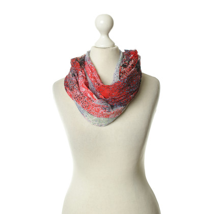Boss Orange Scarf with colourful patterns