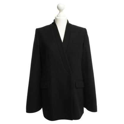 Kaviar Gauche Cape Blazer in black