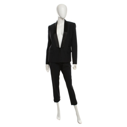 Maje Tuxedo met satijnen details