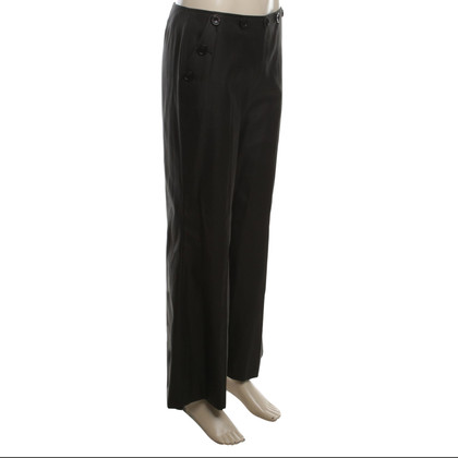 Escada Pants in dark olive