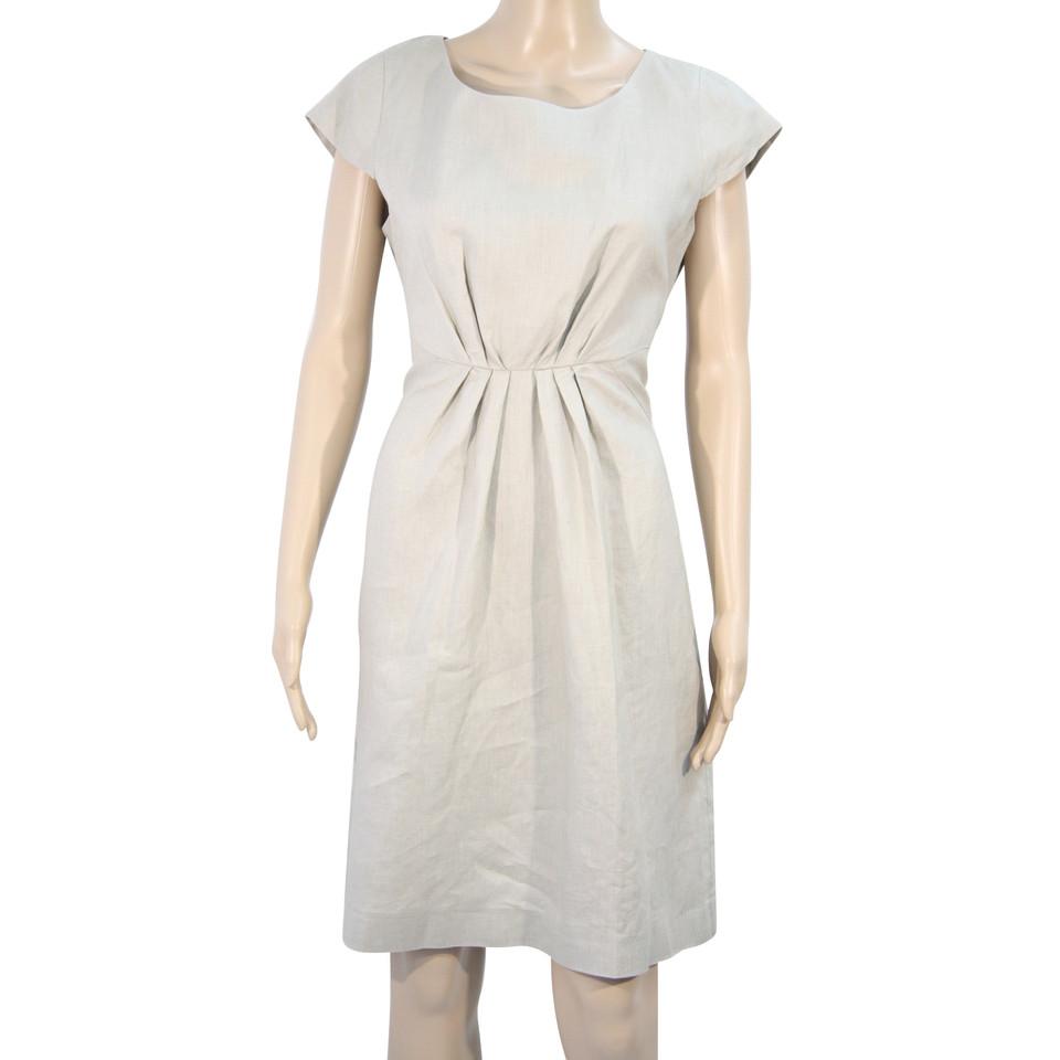 Hobbs Linen dress in beige