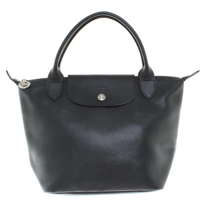 Longchamp Leather handbag in black