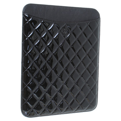 Chanel Patent leather iPad case