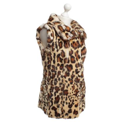 Blumarine Bont vest in tijgerprint