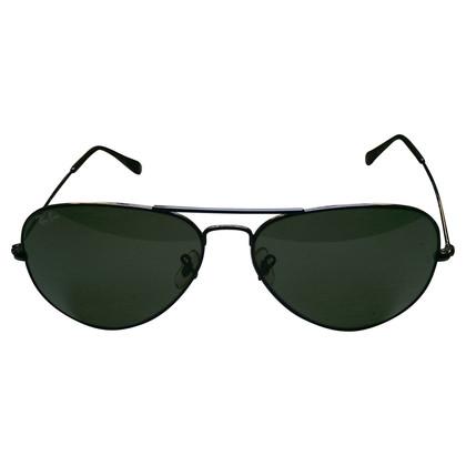 Ray Ban Schwarze klassische Pilotenbrille