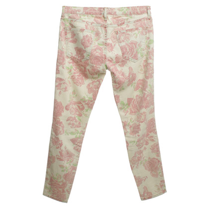Current Elliott Jeans met bloemenprint