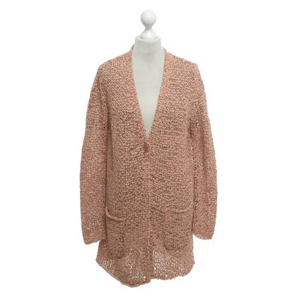 Luisa Cerano Jacket in blush pink