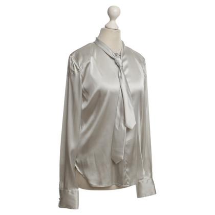 Belstaff Zijden blouse in zilver