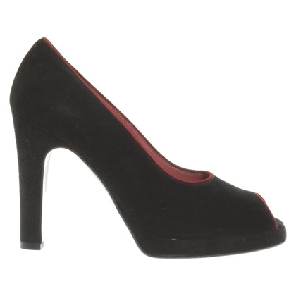 Sergio Rossi Peep-orteils en noir