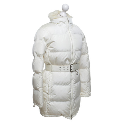 Prada  Down coat with fur trim