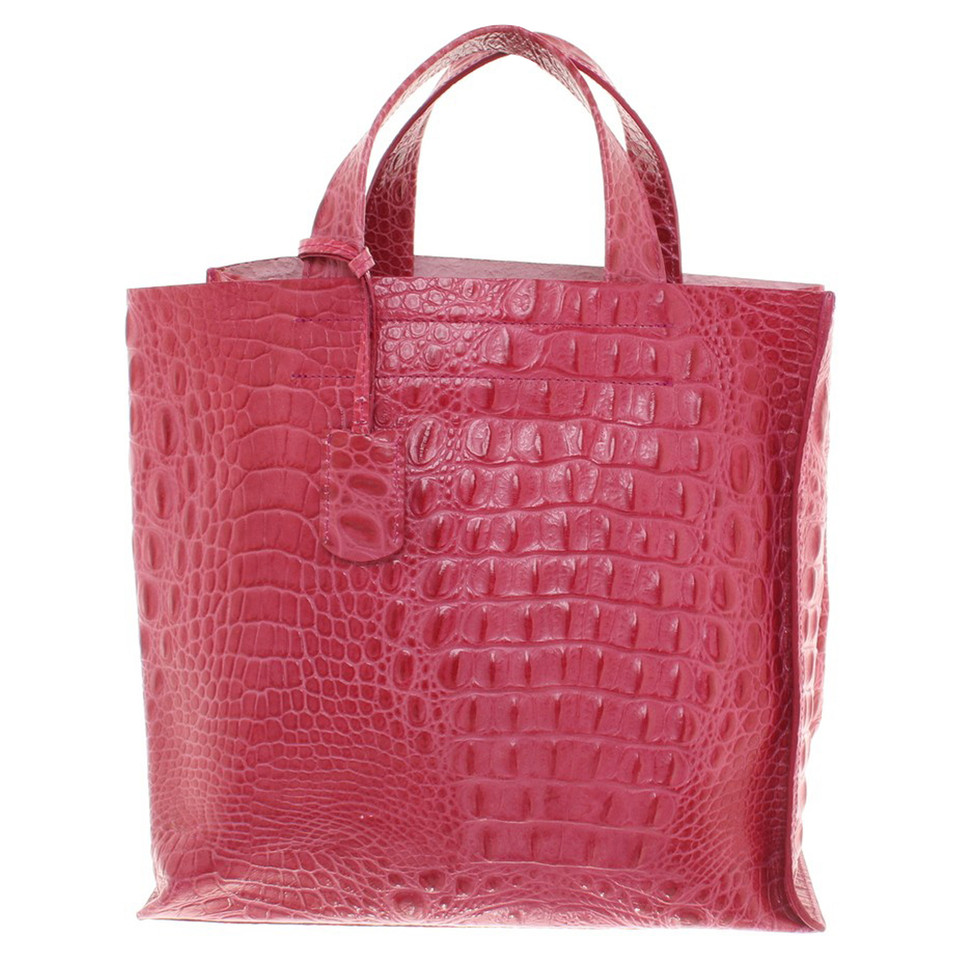 furla handtasche in pink second hand furla handtasche in. Black Bedroom Furniture Sets. Home Design Ideas