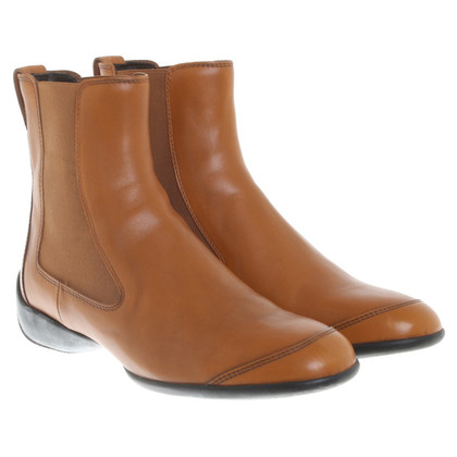 Hogan Ankle boots in light brown