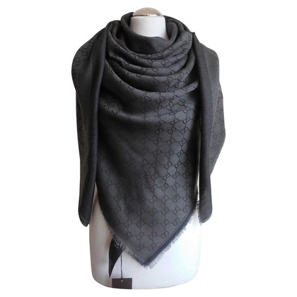 Gucci Guccissima panno di seta / lana