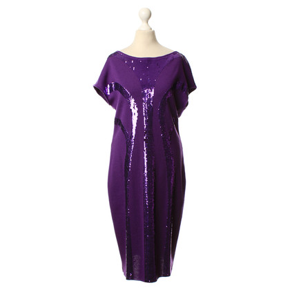 Alberta Ferretti Wollen jurk met pailletten