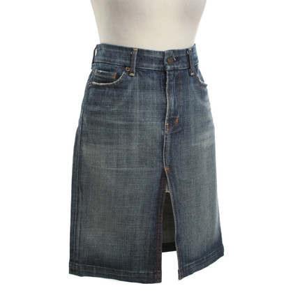 Citizens of Humanity Denim skirt in used look