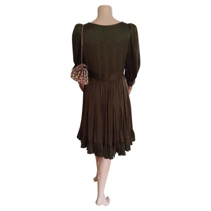 Balenciaga zijden jurk