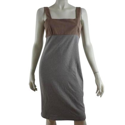 Ralph Lauren Kleid mit Materialmix