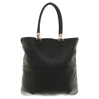 Borbonese Leather bag in black