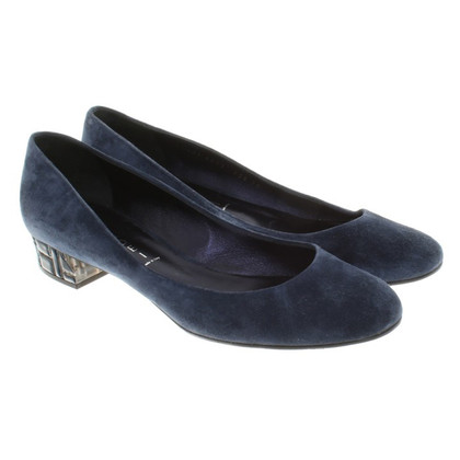 Casadei pumps from suede