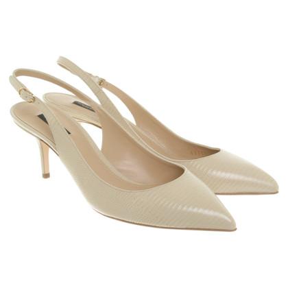 Dolce & Gabbana Slingbacks in beige