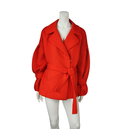 Christian Lacroix Jacket red wool
