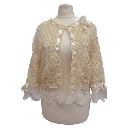 Christian Dior Jacket with tulle / lace