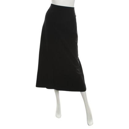 Issey Miyake Maxi-skirt in black