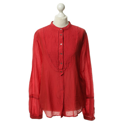Boss Orange Rode zomer blouse