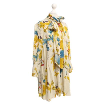 Twenty8Twelve Silk blouse with a floral pattern