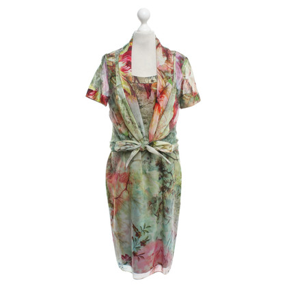 St. Emile Silk dress with blouse