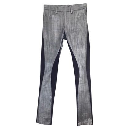 Acne jeans argent