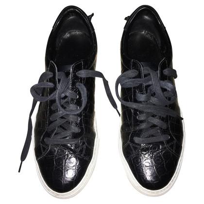 Givenchy Sneakers con coccodrillo goffratura