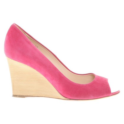 Tod's Peep toes con tacco a zeppa