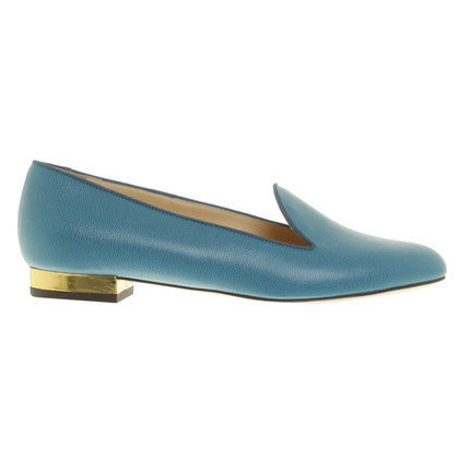 Charlotte Olympia Loafer in Blau