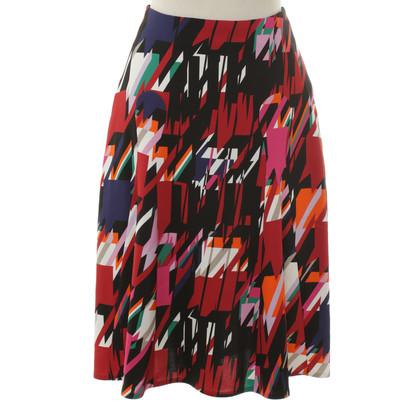 Talbot Runhof Skirt with print