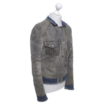 Patrizia Pepe Leather Jacket / Denim