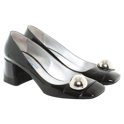 Prada pumps Patent Leather zwart