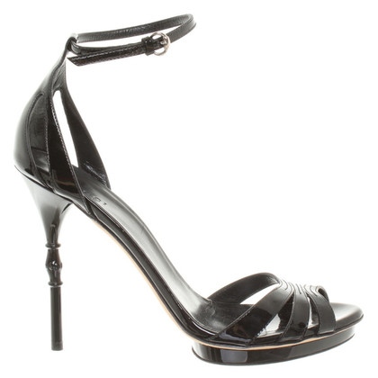 Gucci Pumps in vernice nero