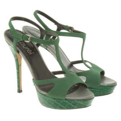 Laurèl Sandals in green