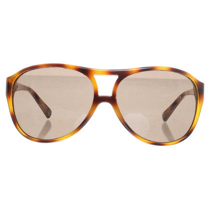 Moschino Patterned sunglasses in Brown