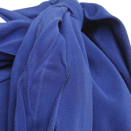 Blau in Blau St St Emile Seidenbluse Emile WwWZTq7BU