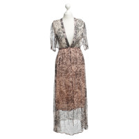 Ganni Long dress with print