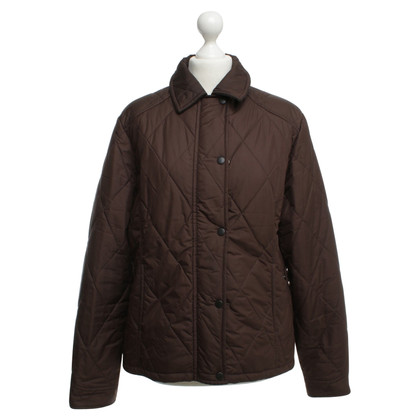 Barbour Quilted Jacket in Brown